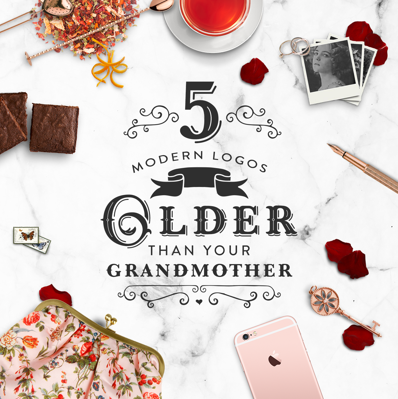 5 Modern Logos Older Than Your Grandmother - www.garlicfriday.com
