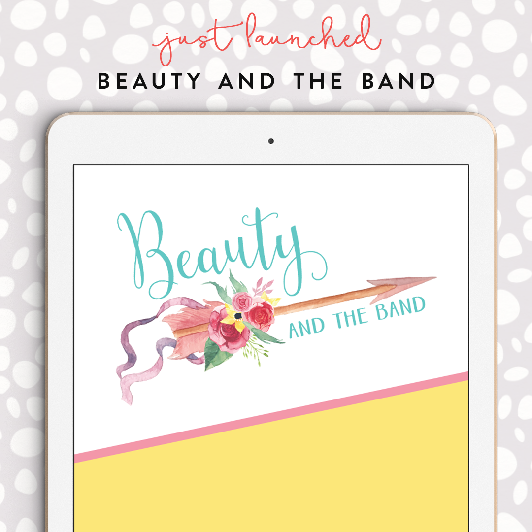 New logo for blogger Beauty & the Band