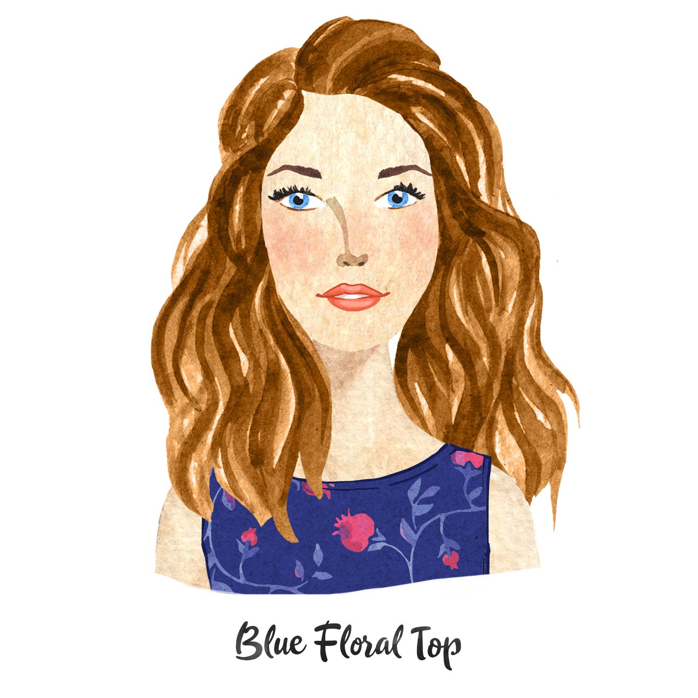Dark blue floral top.jpg