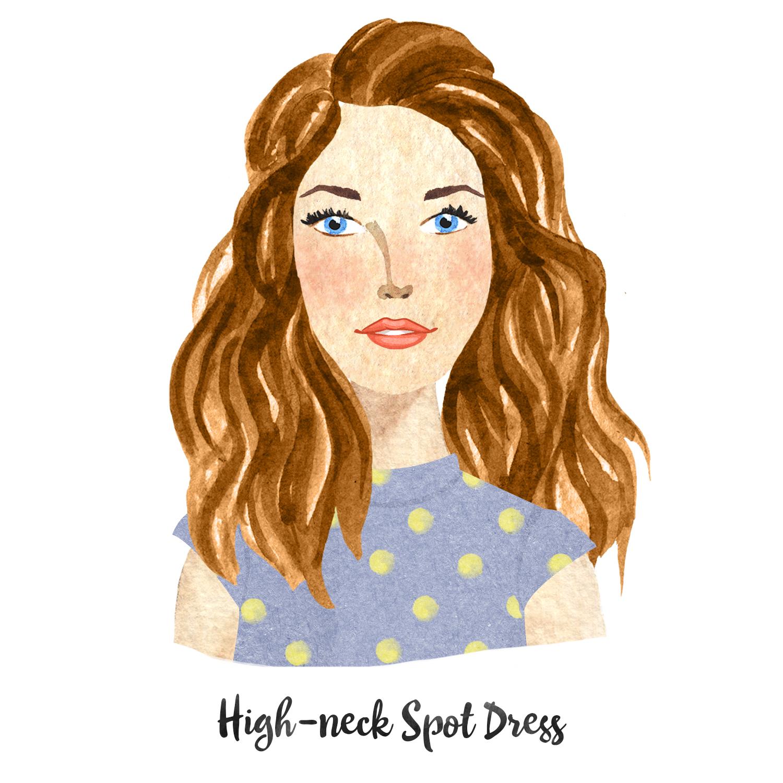 High Neck Spot Dress.jpg