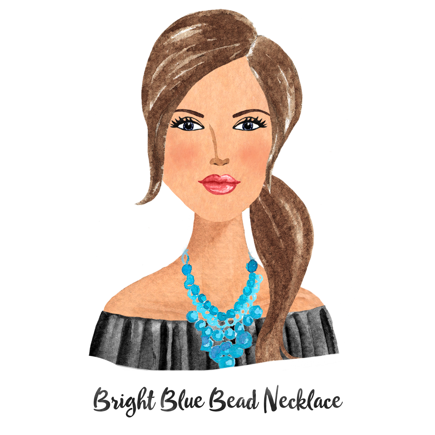 Necklace Bright Blue Beads.jpg