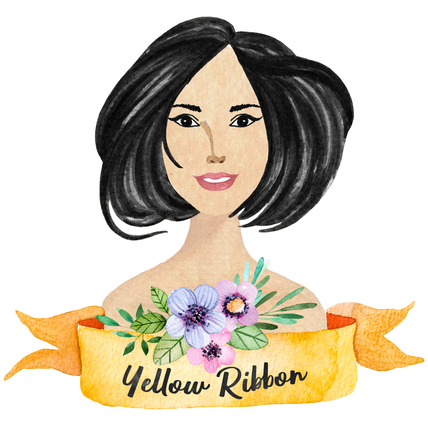 Ribbon Yellow Floral.jpg