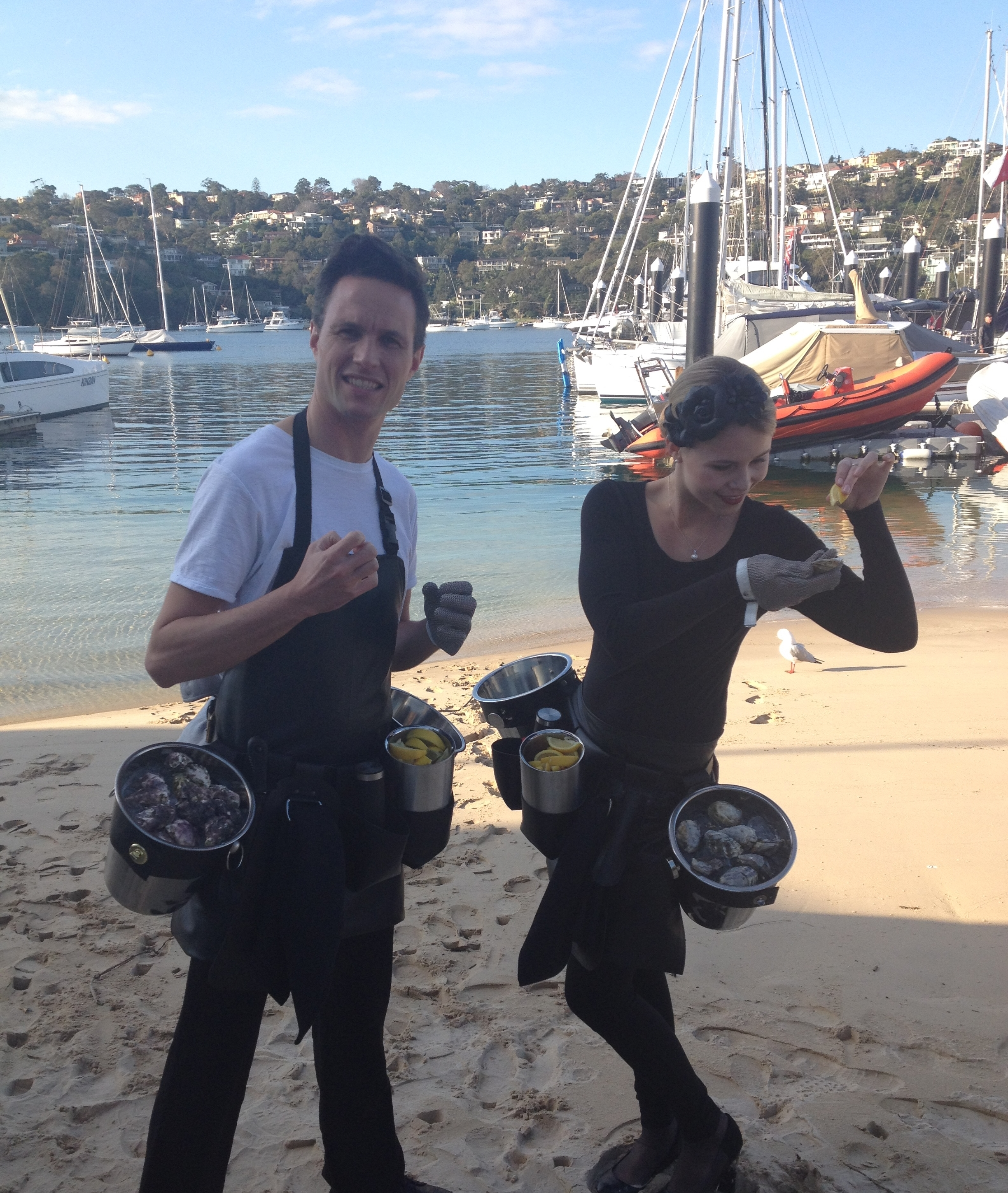 sydney oyster catering function