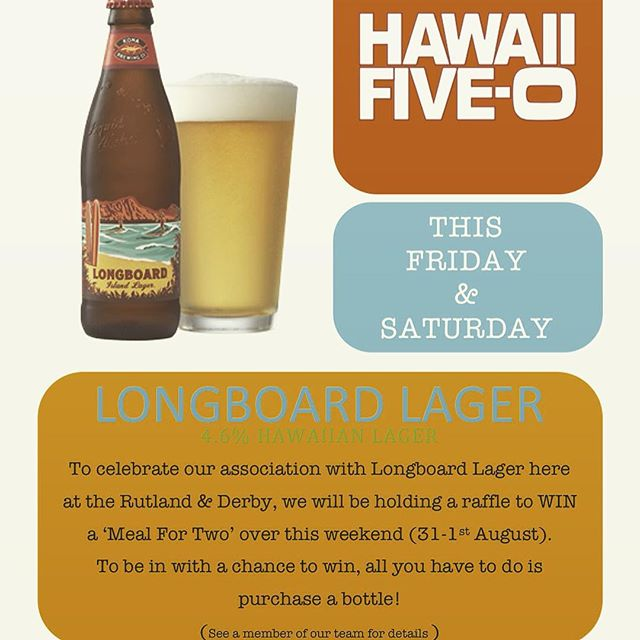 We have a whole host of things going on this weekend.. Watch out for our LongBoard Larger promotions! 👀👌🏼#LongBoardLarger #competition #hawaii50