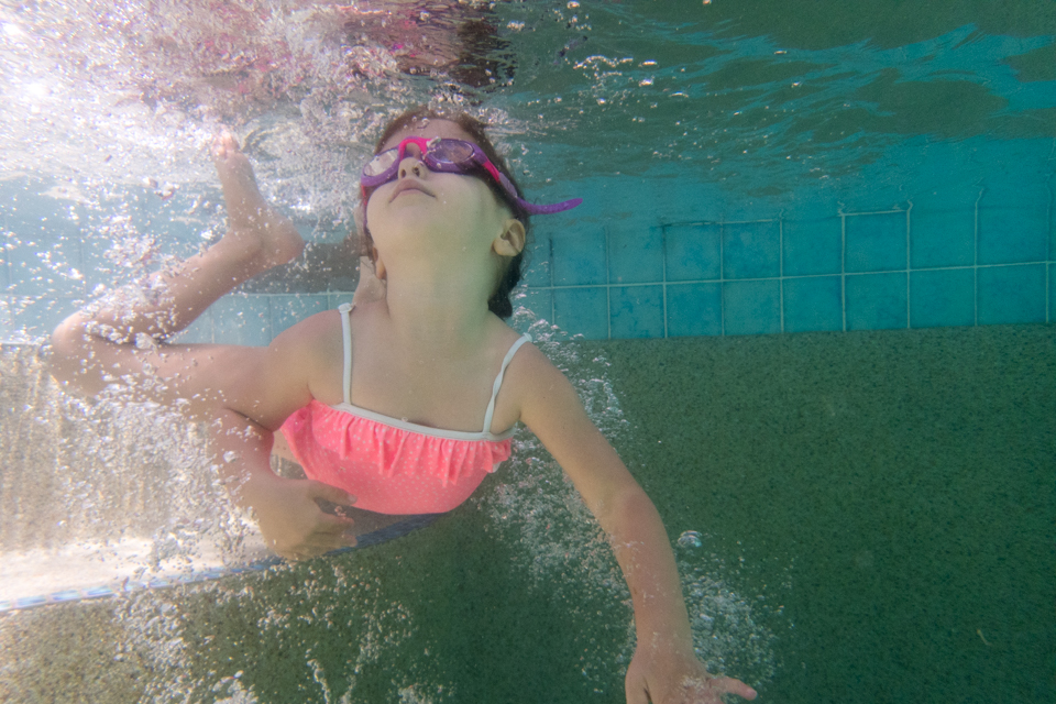 Swimming with a newfound confidence (and a fondness for goggles!)