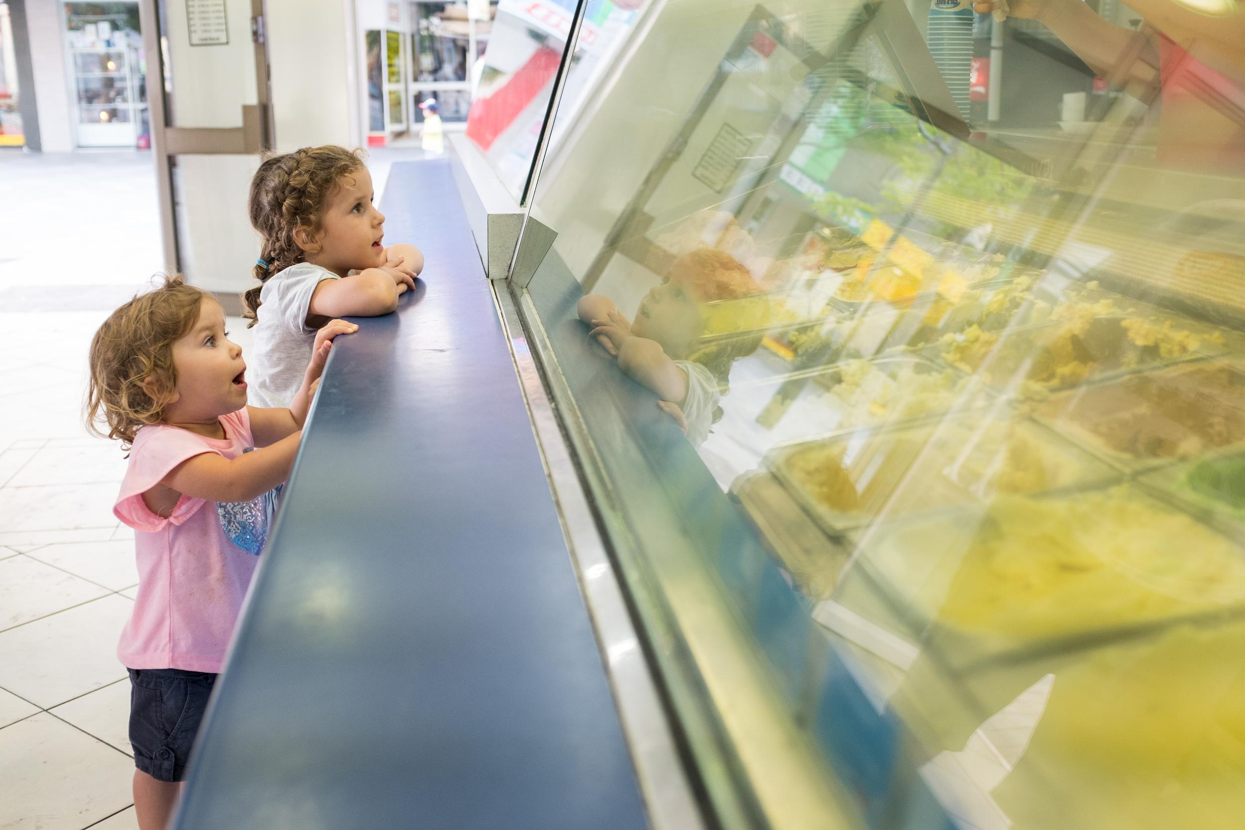 Post dinner icecreams in Cronulla on a hot evening.
