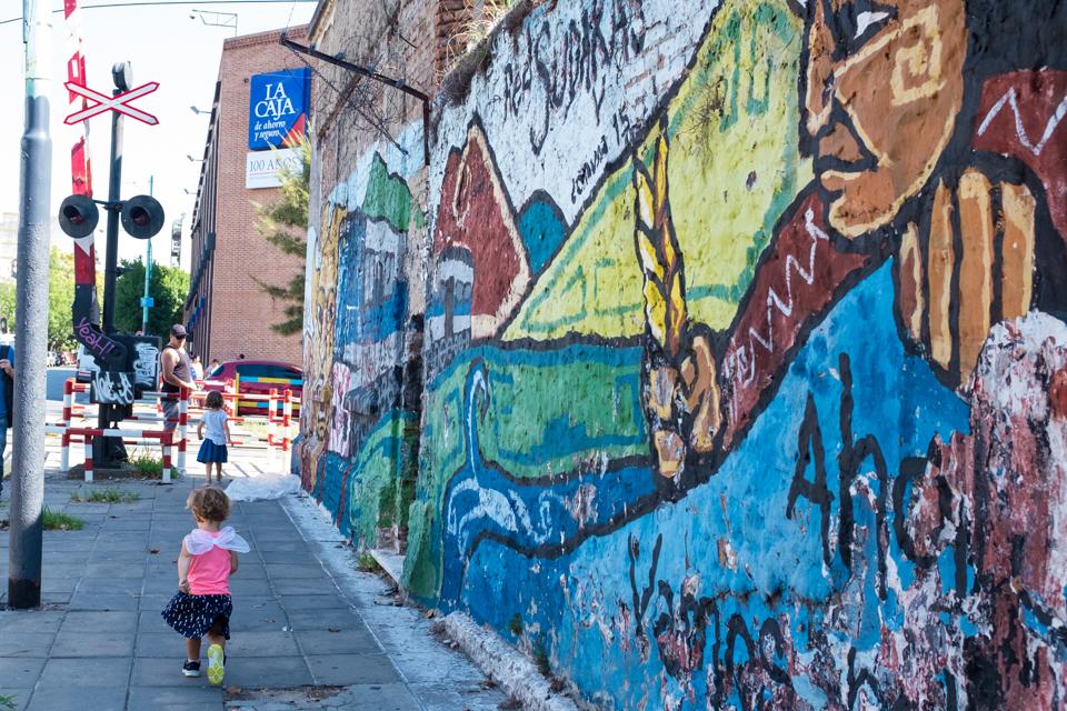 Running the streets of Villa Crespo