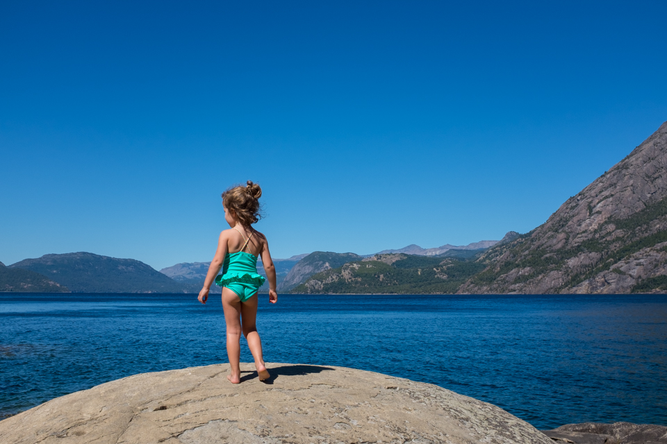 Lakeside in northern Patagonia