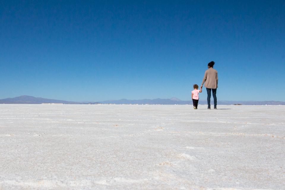 Salt at Salinas Grandes