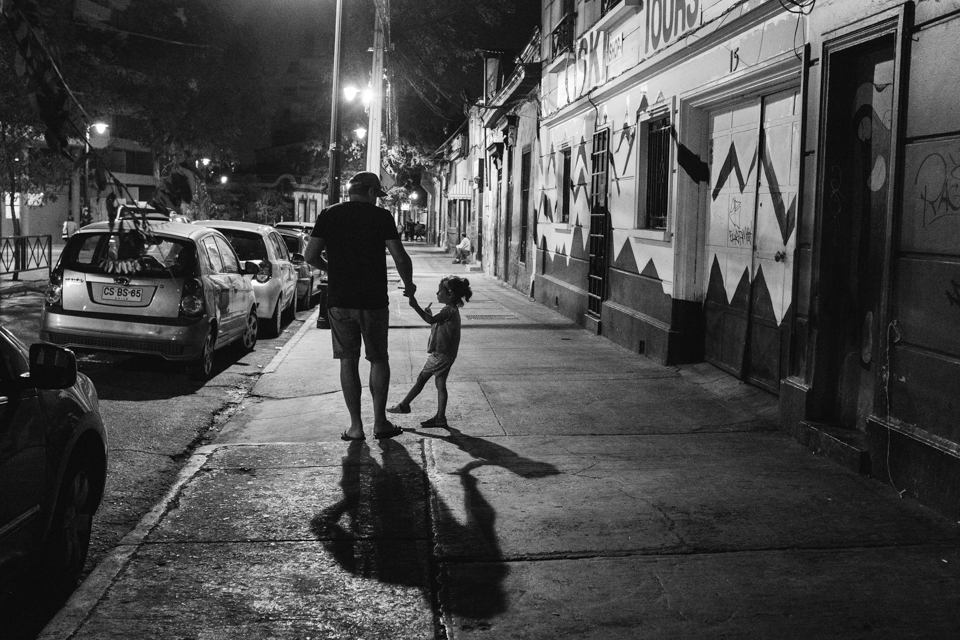 Night time walks through Bellavista