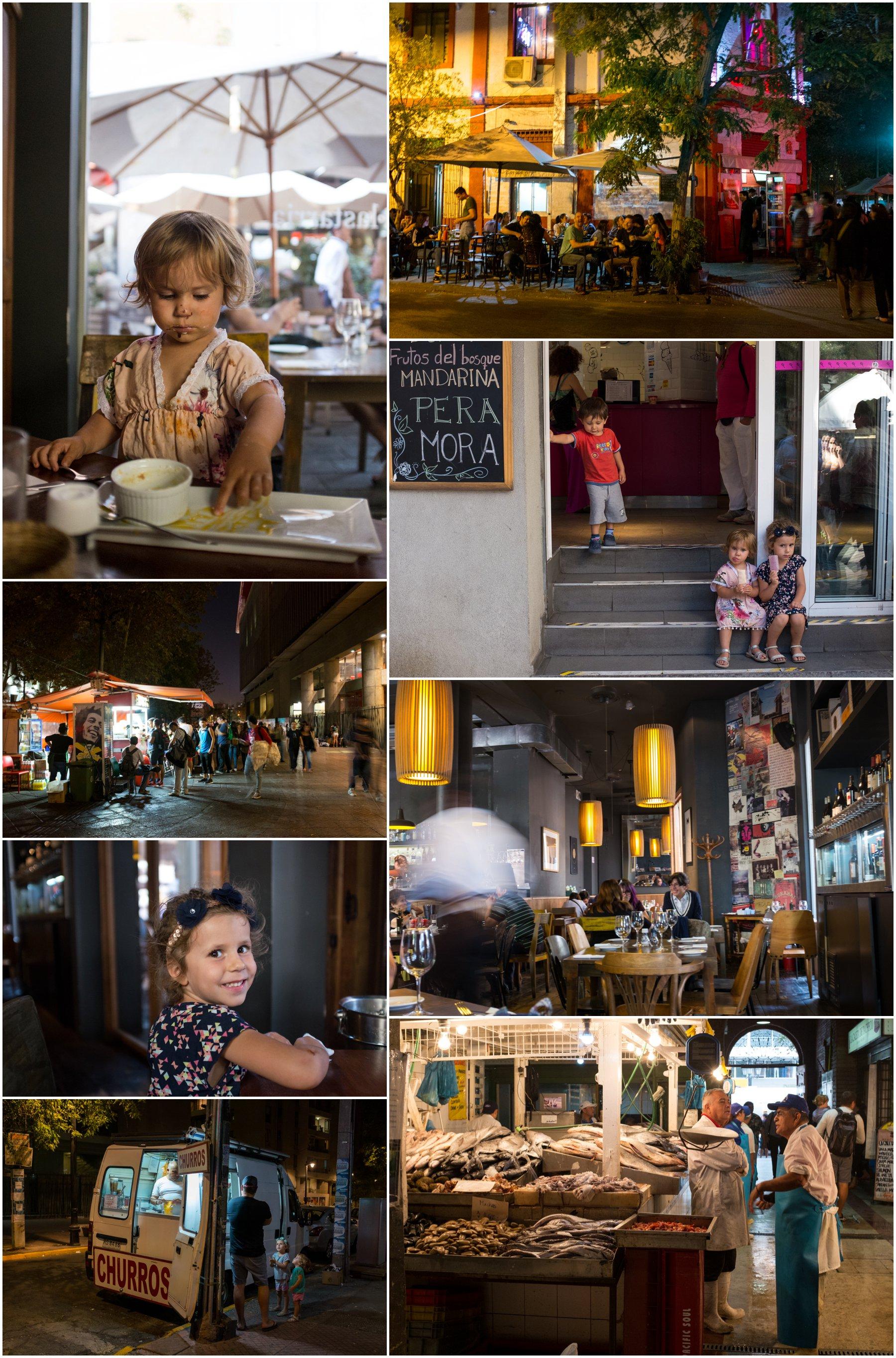The Santiago food scene