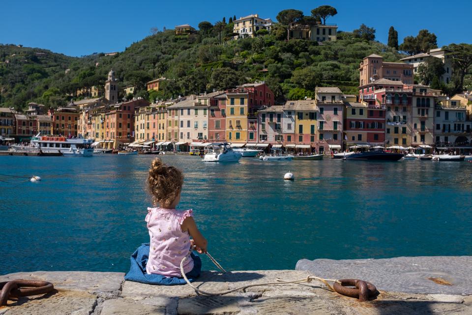 Dropping anchor in Portofino