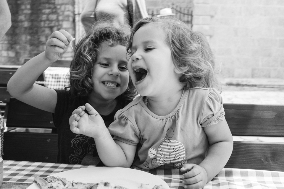 Lunch with laughter