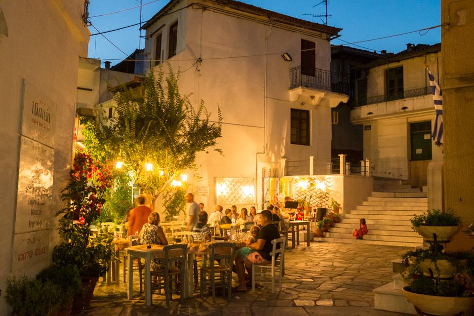 Greek Islands night life