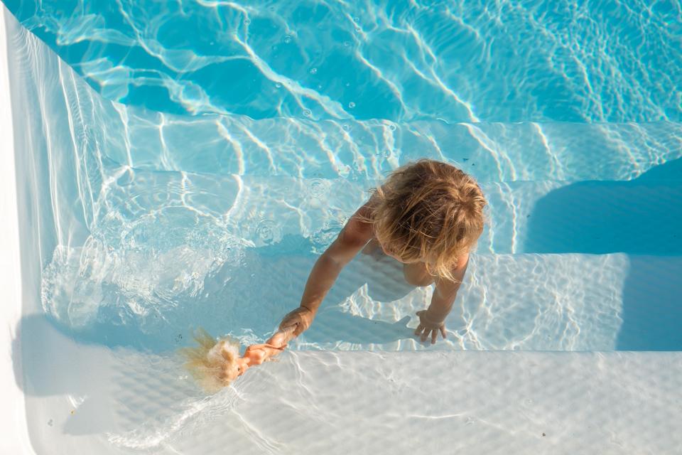 A swim with Barbie