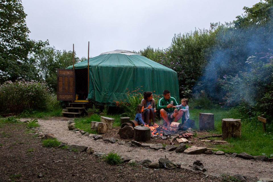 Cornish campfire