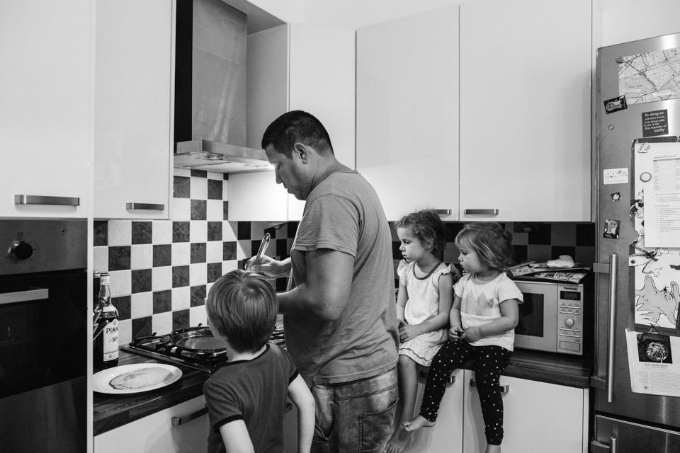 Learning the art of pancake making