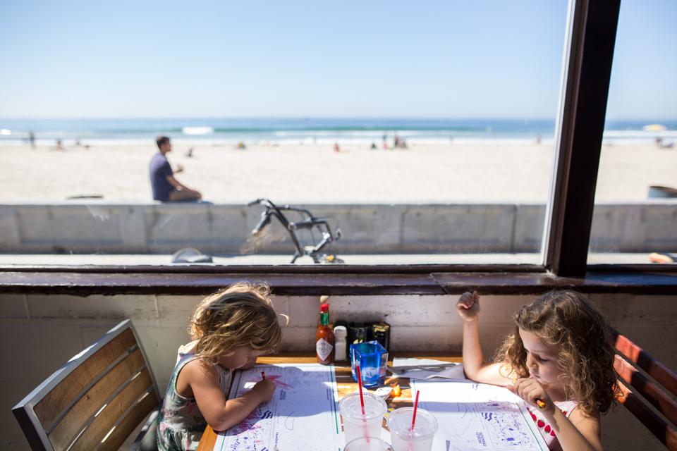 Oceanside lunch