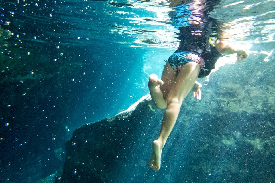 Underwater in TUlum