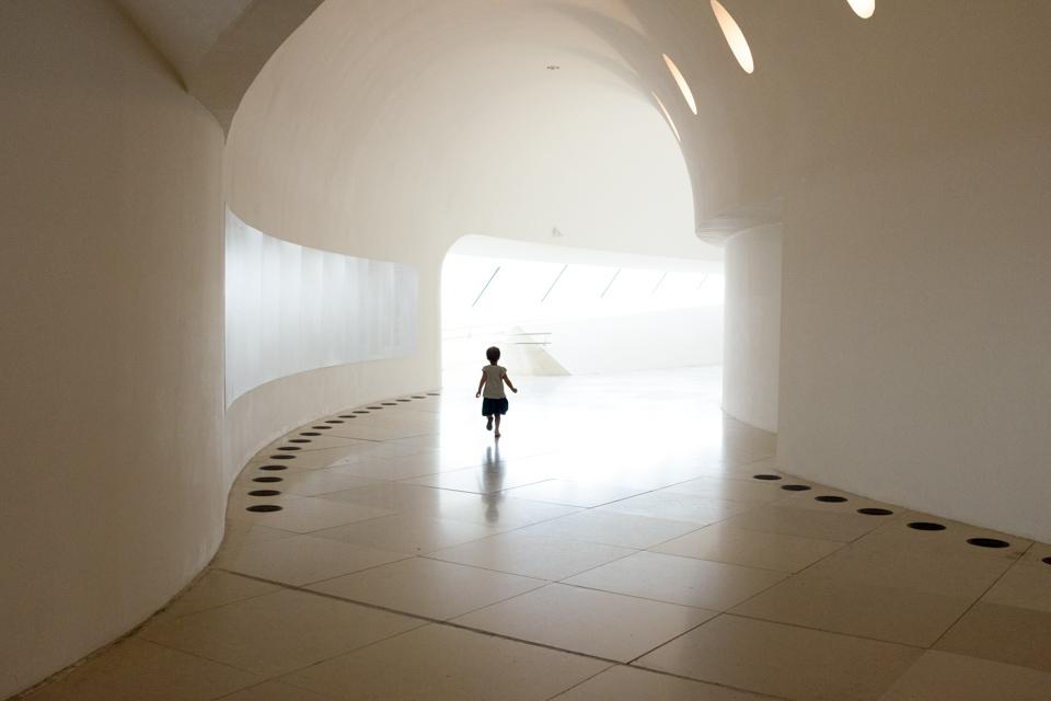 Running to the future, Museu do Amanha