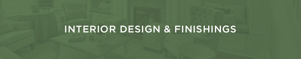 Interior design & finishings