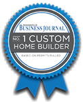 The No. 1 Custom Home Builder in Indianapolis  (as listed by the IBJ)