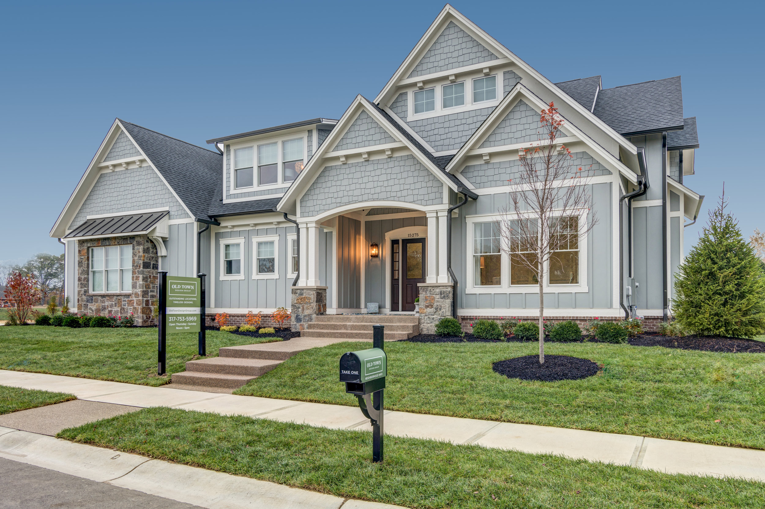 SYCAMORE PLAN:  Modern, Master-Down, 3 Bedroom, 2-Story