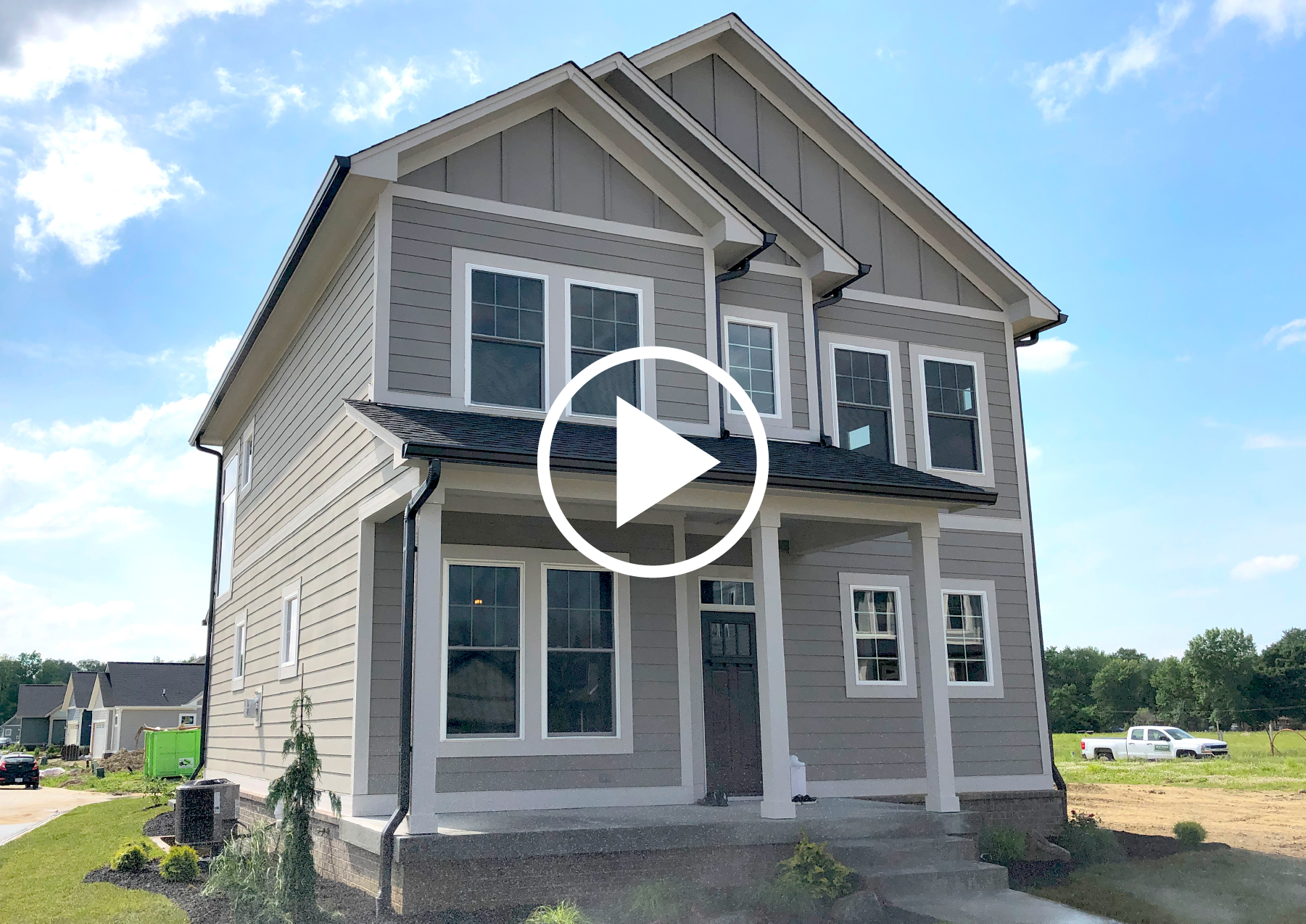 KEY SERIES - TULIP PLAN: Craftsman, Master Up, 4 Bed, 2-Story with Basement BUILD IN:  Sunrise on the Monon  only  DOWNLOAD FLOOR PLAN