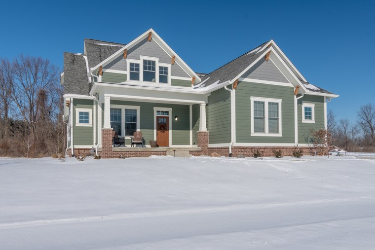It helps if you know what your desired community looks like on both sunny and snowy days.