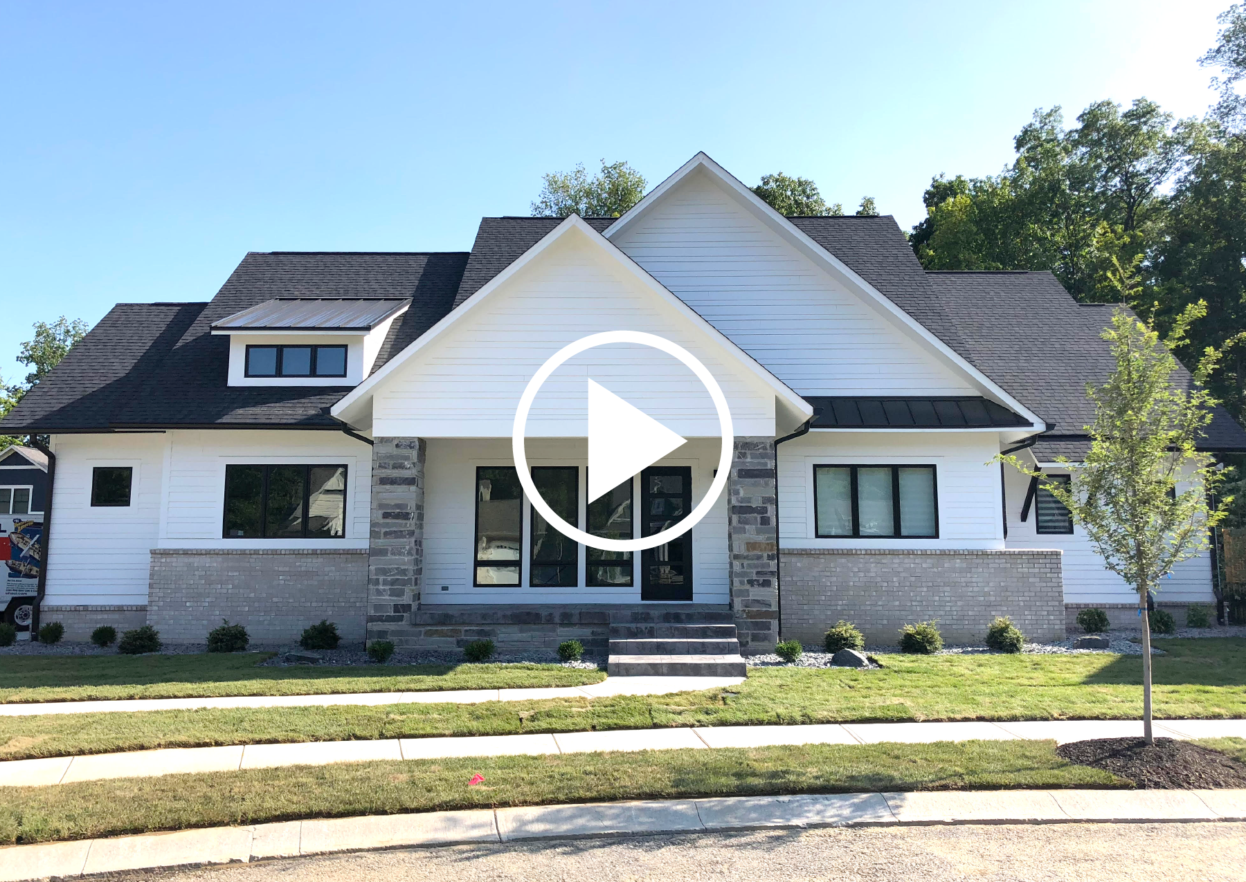 CUSTOM HOME: Modern, 4 Bedroom, Ranch with Basement RE-BUILD IN:  Chatham Hills ,  Maple Ridge  or  Holliday Farms