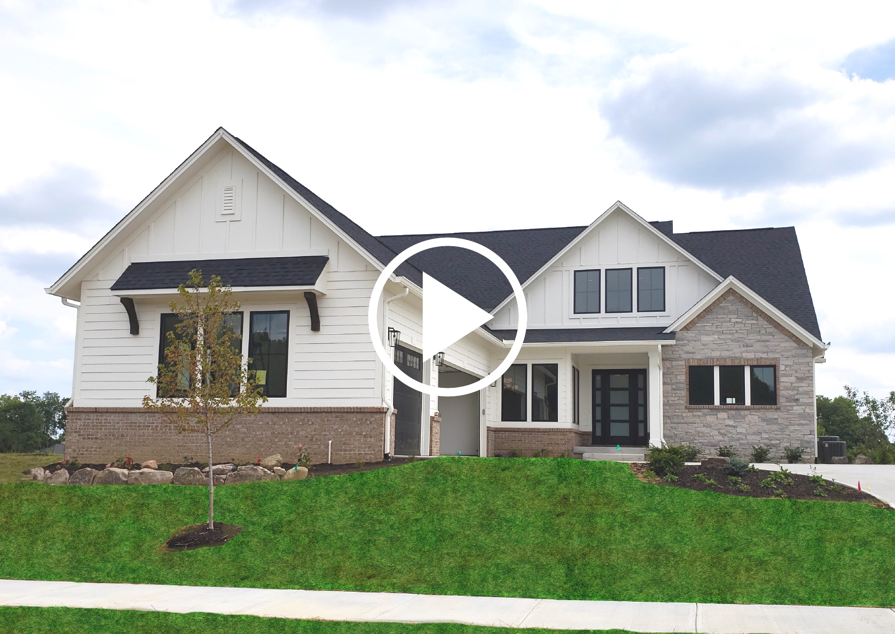 CUSTOM HOME: Contemporary, 4 Bedroom, 2-Story with Basement RE-BUILD IN:  Chatham Hills ,  Maple Ridge ,  Gray Oaks  or  Holliday Farms