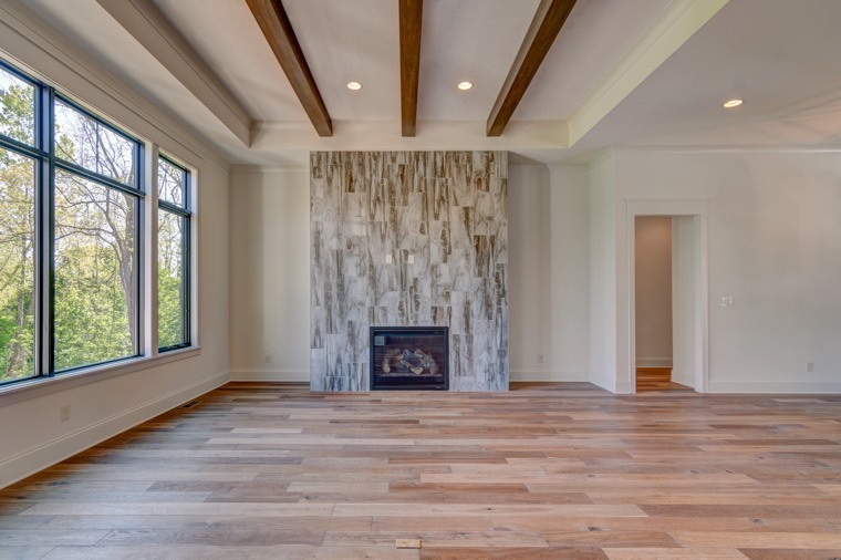 With radiant heat, your open floor plan will be free of cold or dead spots.