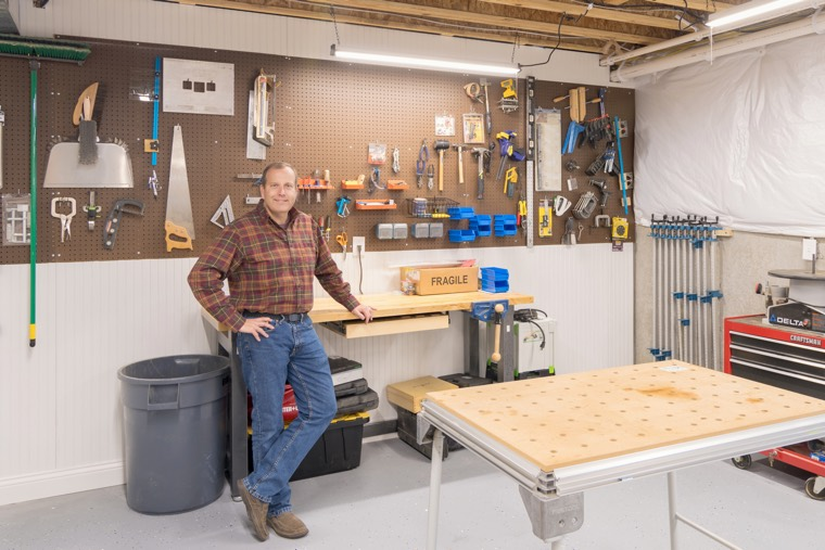 Some custom-builds include workrooms, craft rooms, or games rooms.