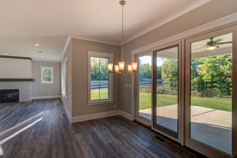 From lighting fixtures to flooring, all your choices will be incorporated.