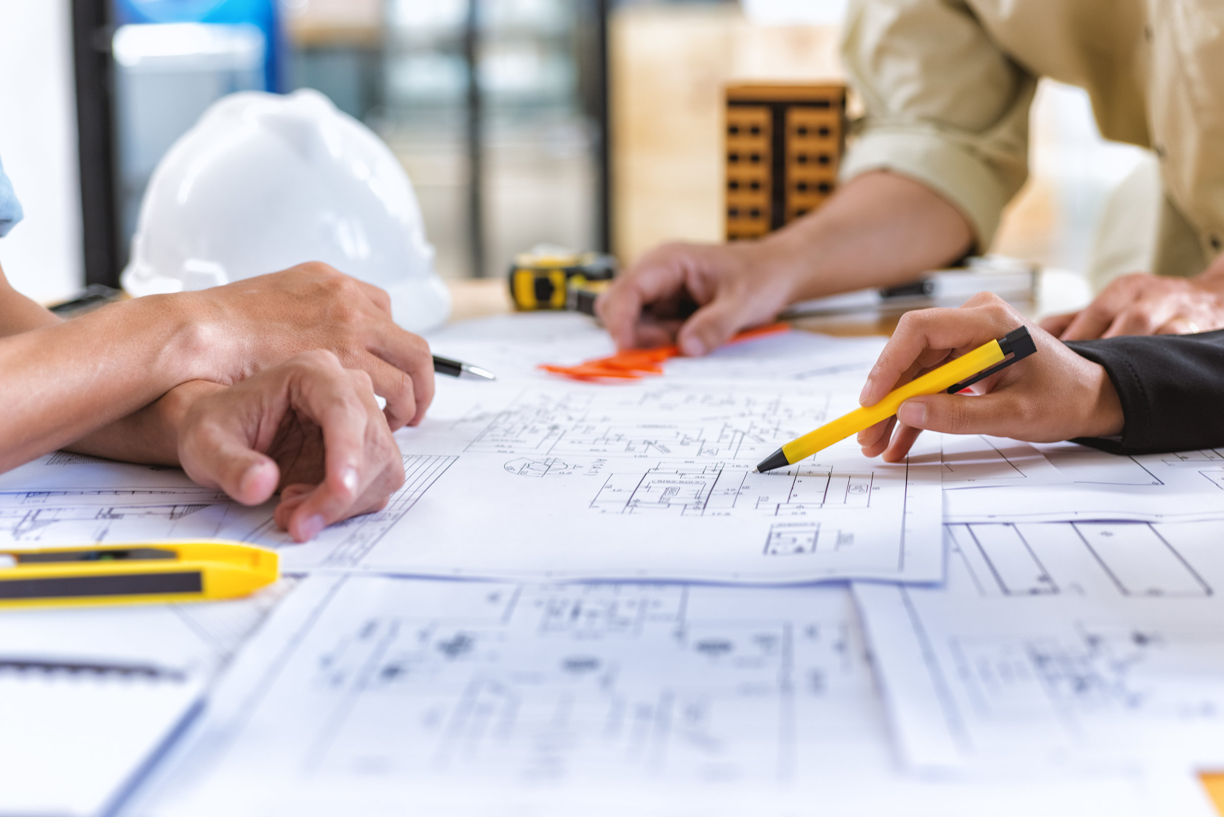 Working with our in-house designers, you are able to design your home from the ground up.