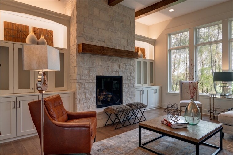 Living room in custom home in Carmel.jpg