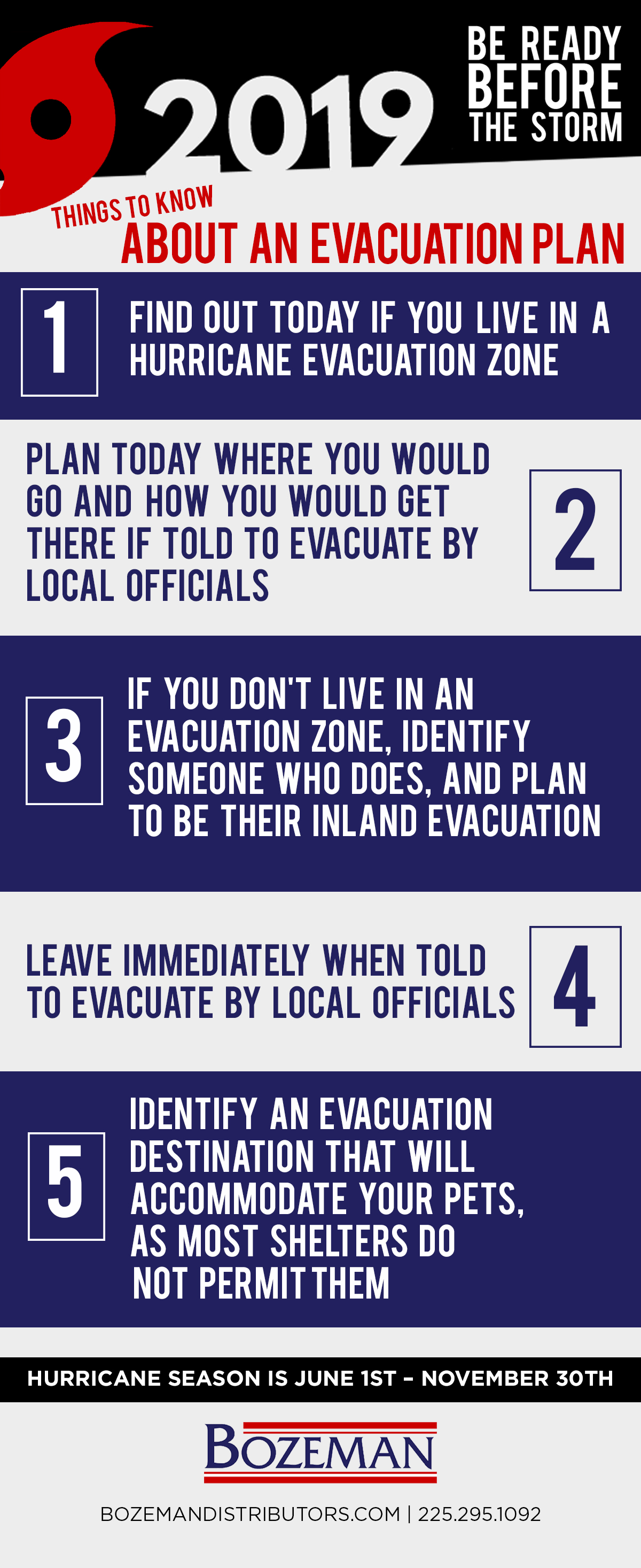 hurricane evacuation planning