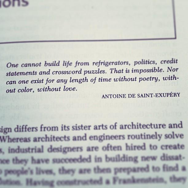 exupery quote