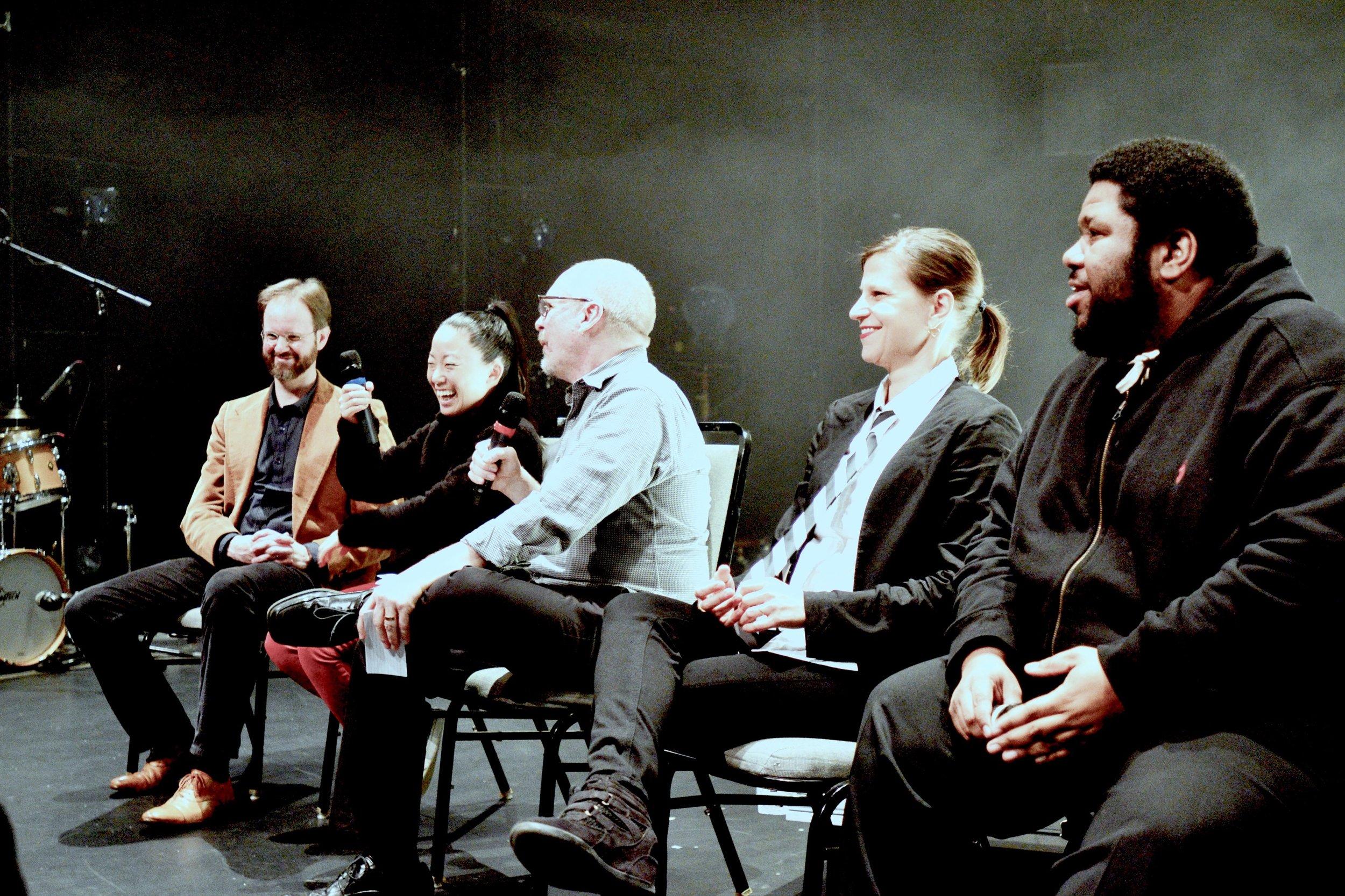 Richard Beaudoin, Pauchi Sasaki, Steve Smith, Suzanne Farrin, and Tyshawn Sorey at The Kitchen, New York