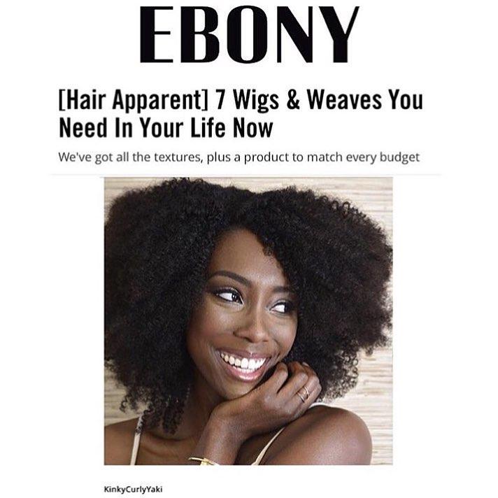 Image on Ebony.com for Kinky Curly Yaki!
