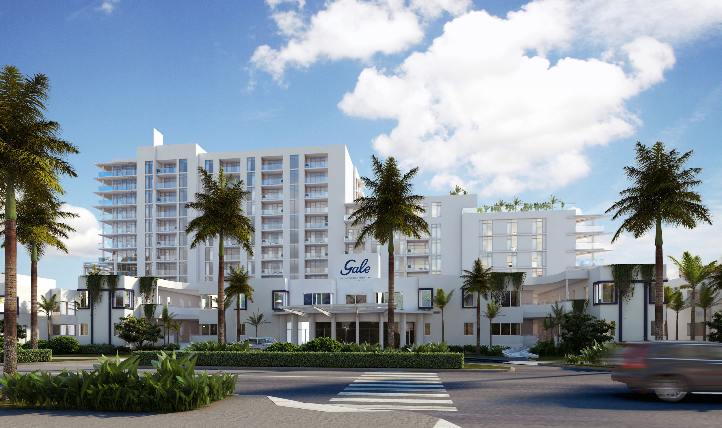 Gale Ft.Lauderdale Hotel Boutique Building Day Time