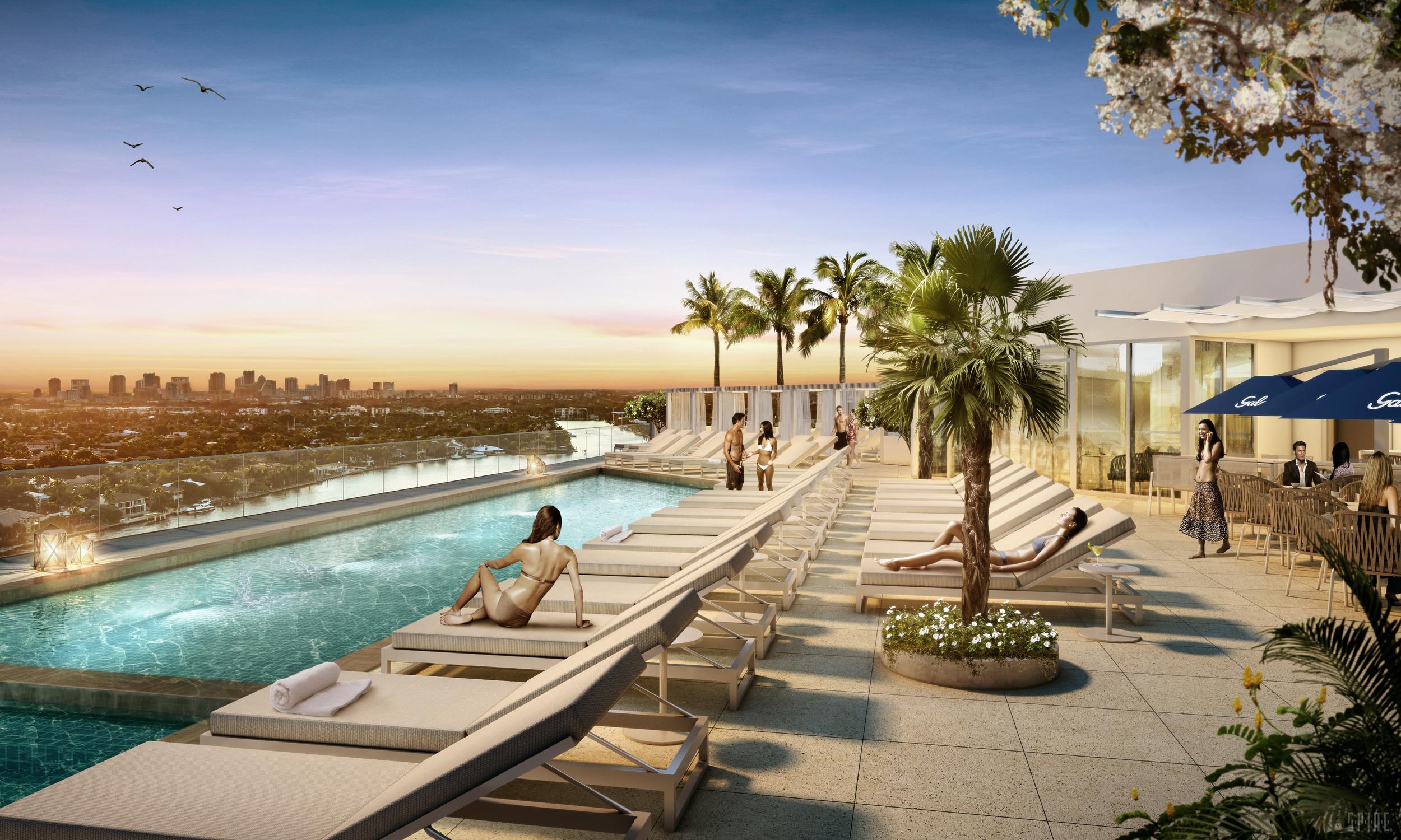 Gale Ft.Lauderdale Rooftop Pool