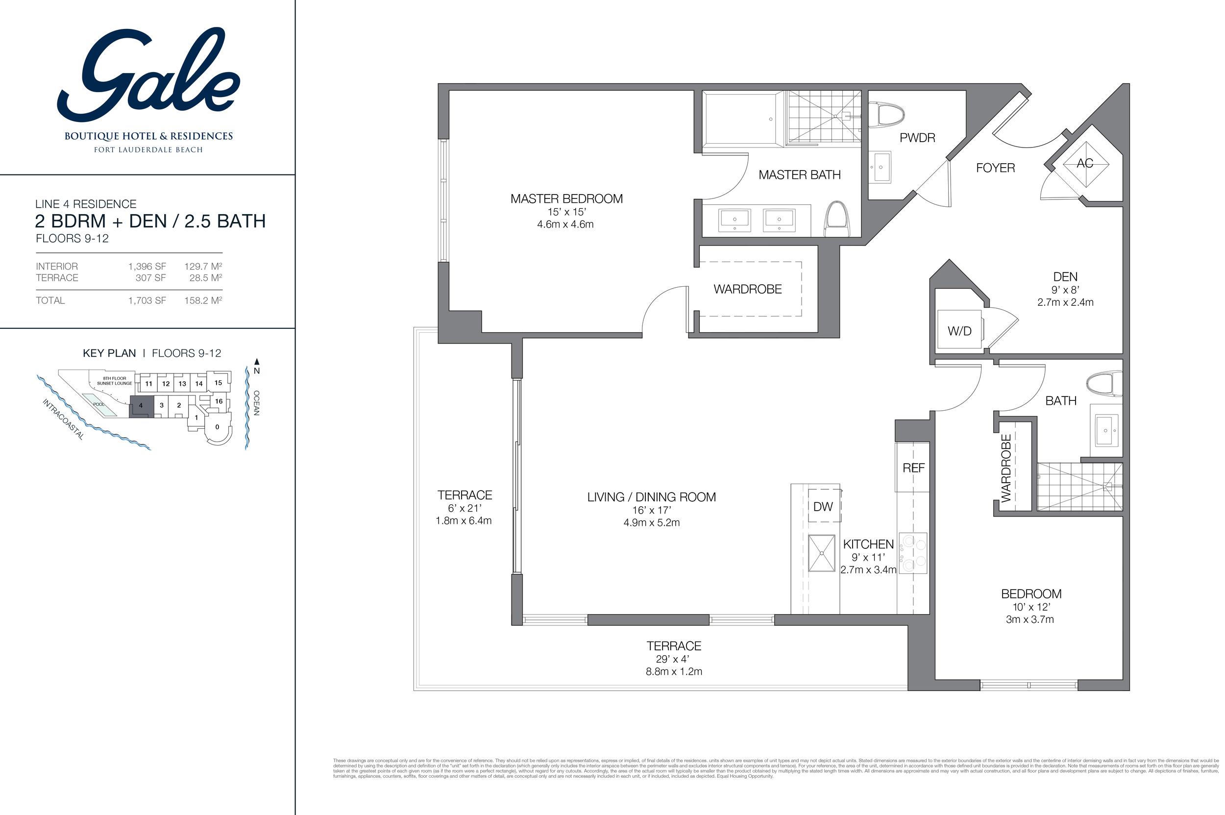 Gale Ft.Lauderdale Floor Plan Line 4