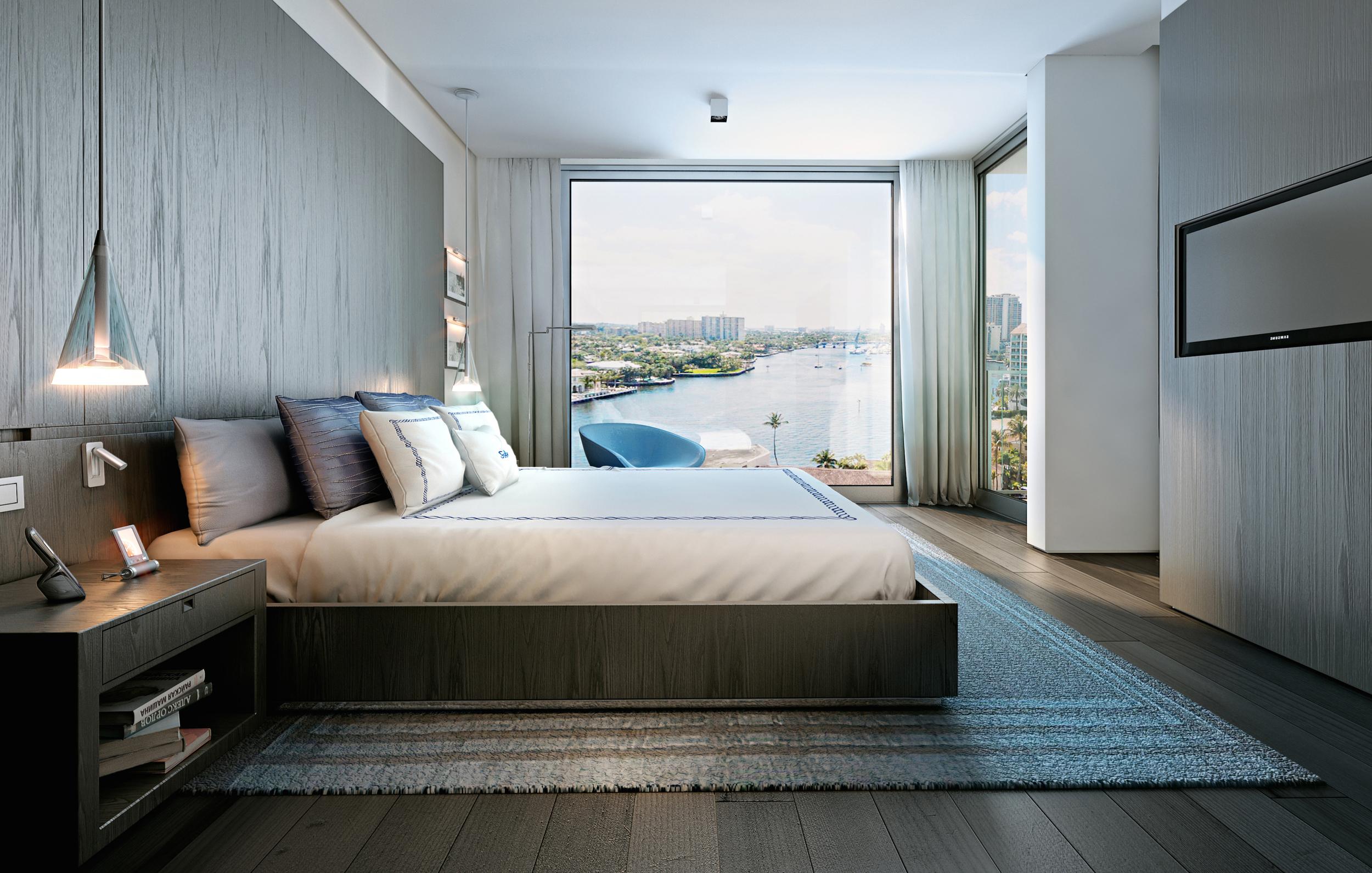 Gale Residences Ft.Lauderdale Bedroom
