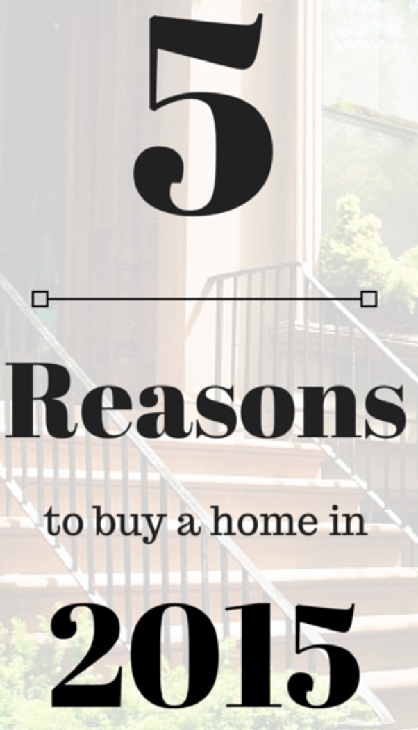Top 5 Reasons To Buy A Home