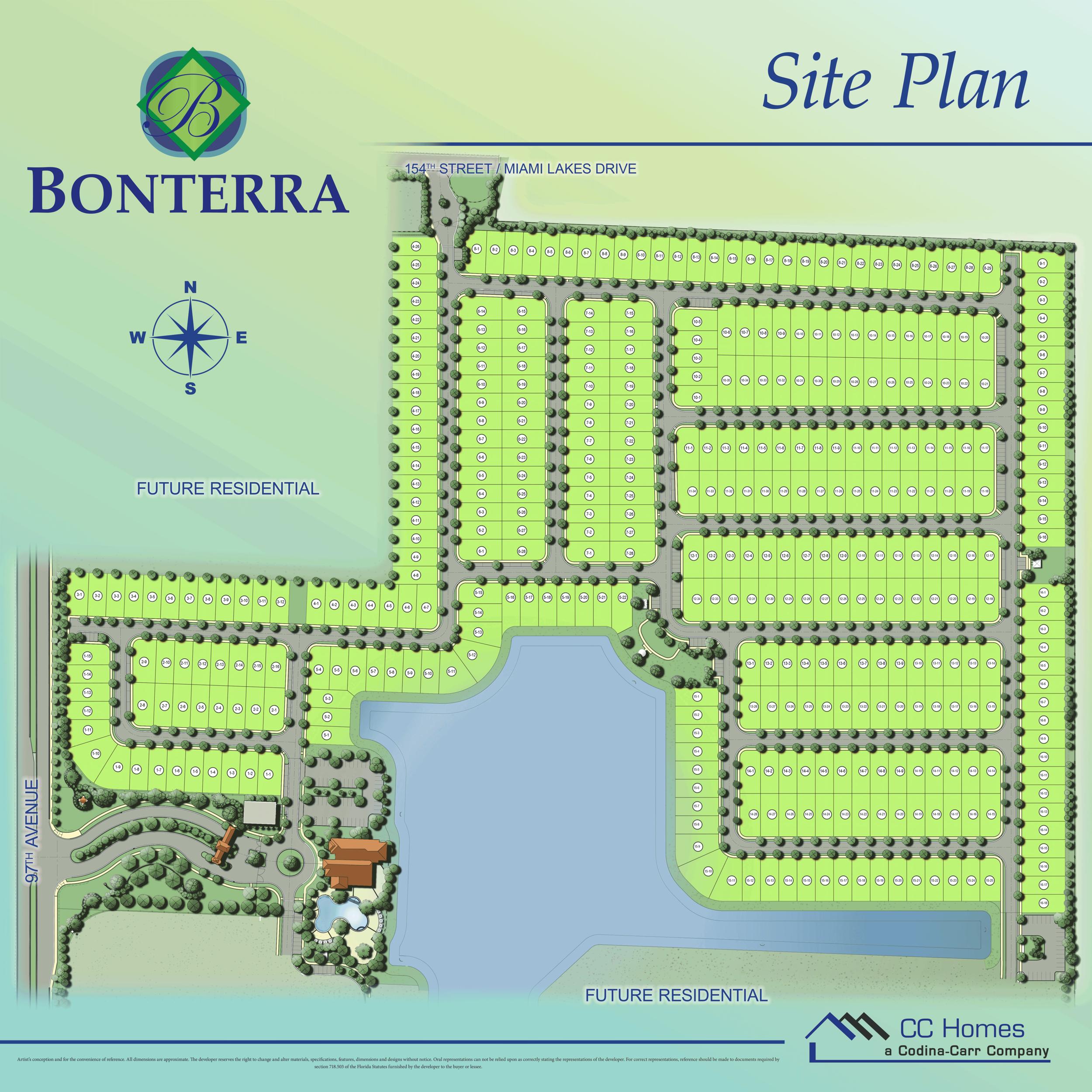 Bonterra site plan