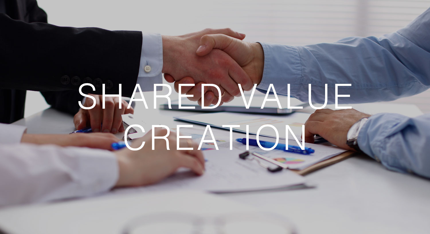 We believe deals should only happen where the whole is greater than the sum of the parts, and we love to bring people and businesses together to create shared value.