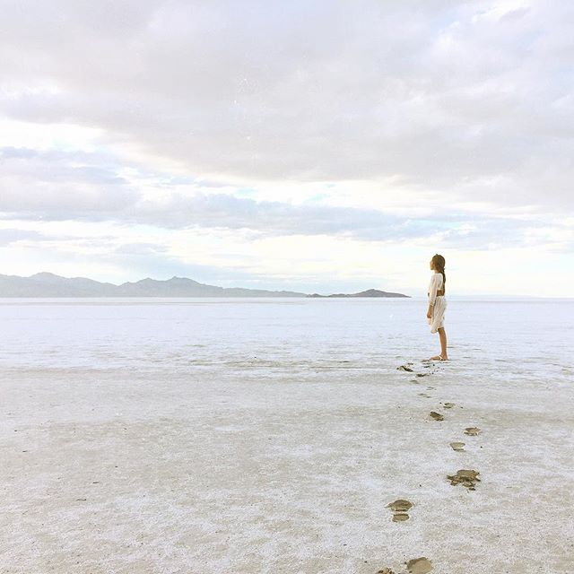 Last night we we took our young Jedi's out to the Salt Flats and got lost...on purpose. #bestnightever #disconnect #getlost #moonwalking #adventureseekers #saltflats #wanderlust