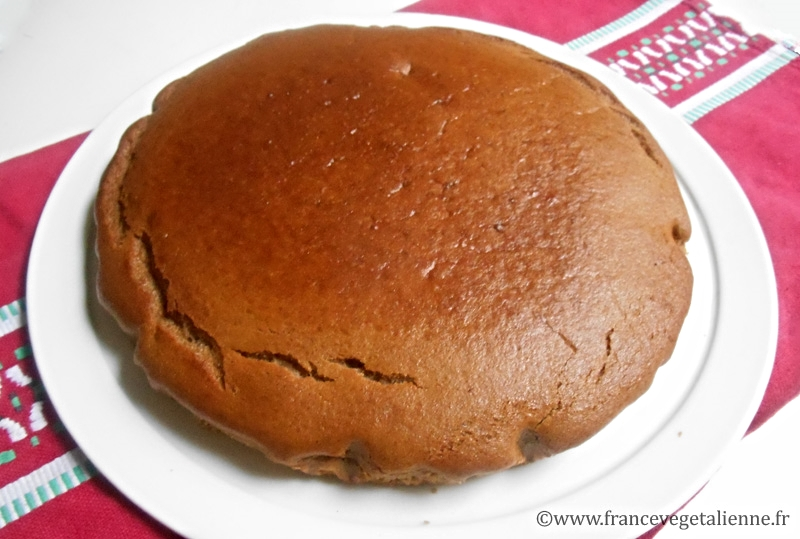 Gâteau à la crème de marron (vegan)