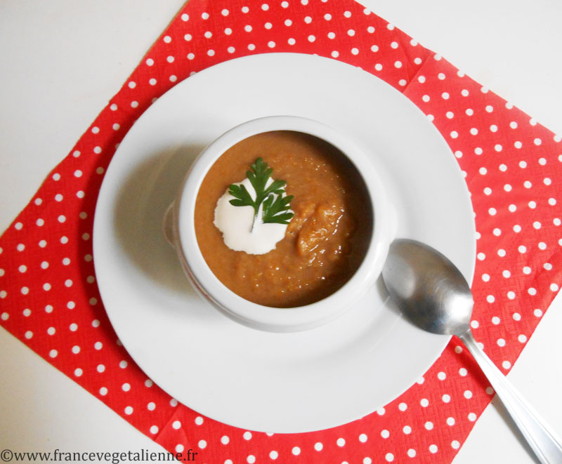Cousinat (soupe aux châtaignes, vegan)